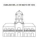 DIBUJO DEL CABILDO DE 1810