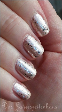 Silvester Nageldesign Champagner Nails 4
