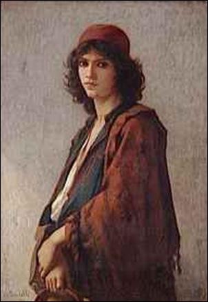 Charles Landelle, Jeune bohémien serbe