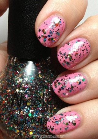 Nicole by OPI Confetti Fun over Naturally