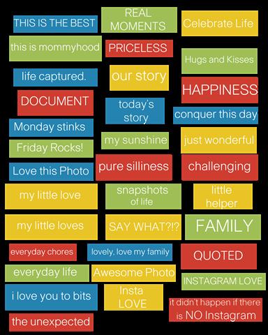 Word Strips- Everyday Random