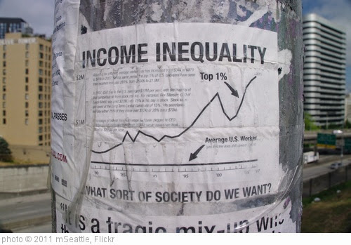 'Income Inequality' photo (c) 2011, mSeattle - license: https://creativecommons.org/licenses/by/2.0/