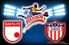 Ver Online Atlético Junior vs Independiente Santa Fe, Fecha 20, Colombia / 20 Abril 2014 (HD)