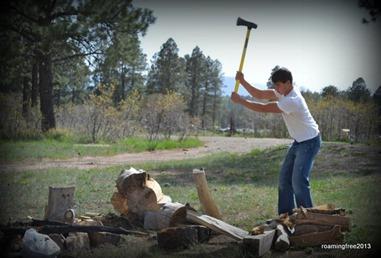 Lumberjack Nicolas
