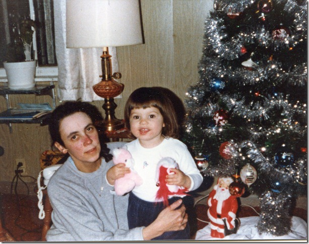 Pauline and Monique, age 2, 1981