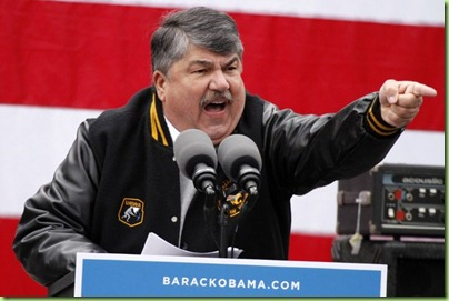 trumka drumming up the votes