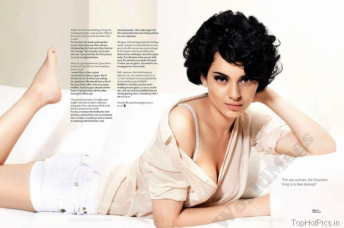 Kangana Ranaut Hot Photos for Magazine 6
