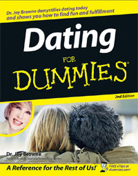 Cover of Dr Joy Browne's Book Dating For Dummies