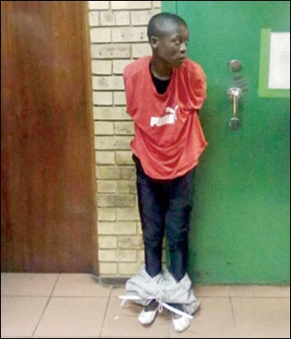 AFRIKAANS STUDENT MUTILATED RAPE ARRESTED ALLOWED TO ESCAPE TSIETSI SAMUEL MZIZA