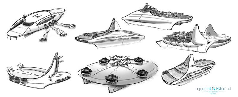 Yacht Island Designs Tropical Island Paradise 9