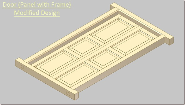 Door (Panel with Frame) Modified Design_2