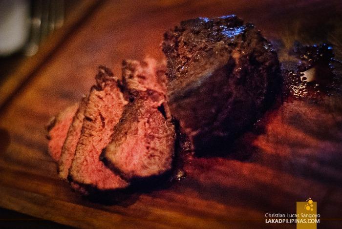 Wisconsin Beef Tenderloin Steak at Chops Chicago Steakhouse