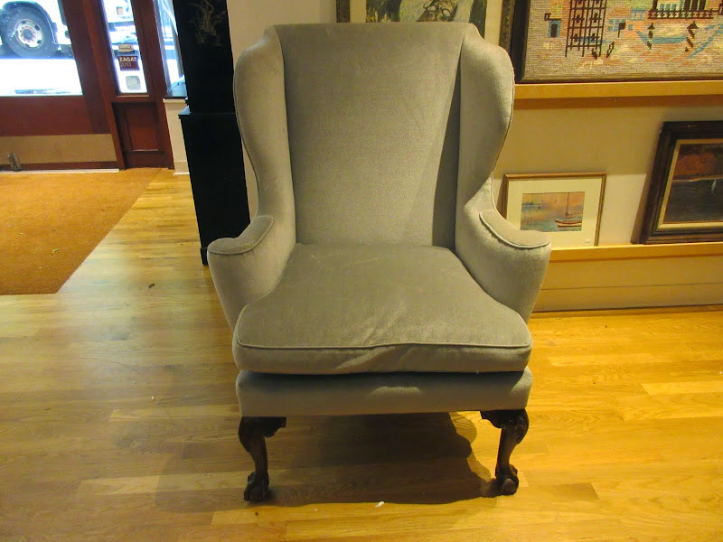 Claw Foot Wing Chair