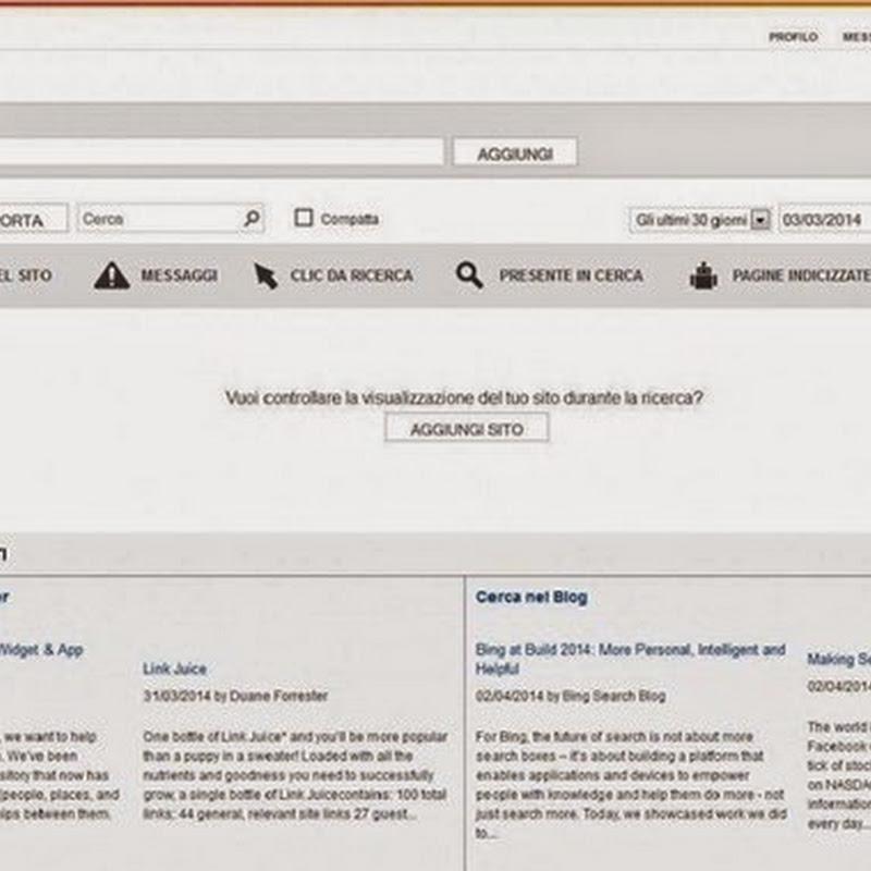 Come utilizzare Bing Webmaster Tools: inizio e configurazione.