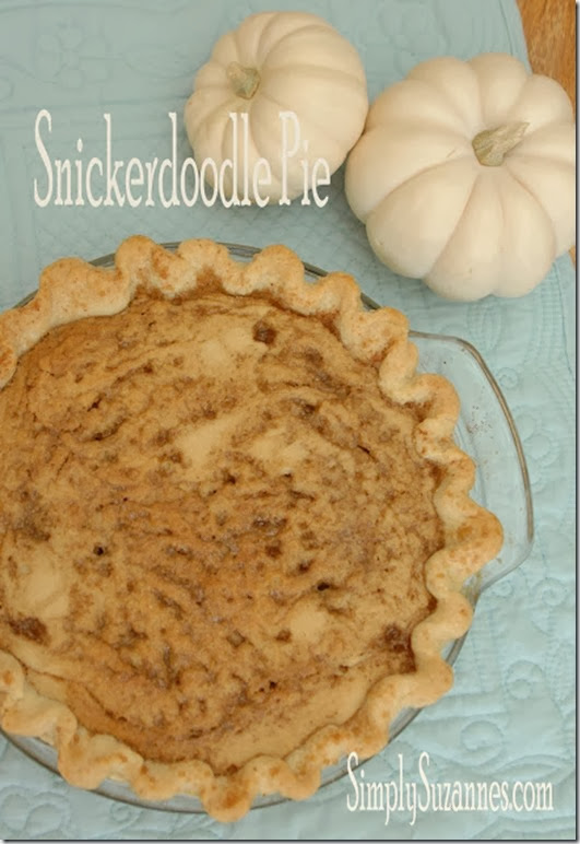 snickerdoodle pie title