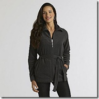 Athletech  Women's Belted Fleece Jacket