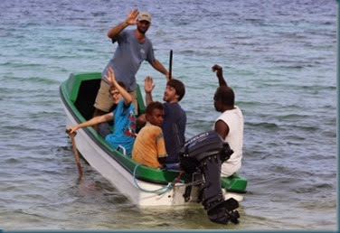 guys leaving in canoe SAT
