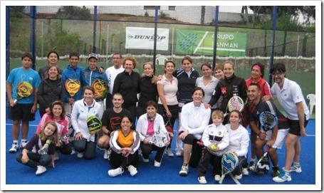 Éxito en el Clinic de Navarro, Reiter y Zamora en Sanman Sport de Picassent (Valencia).