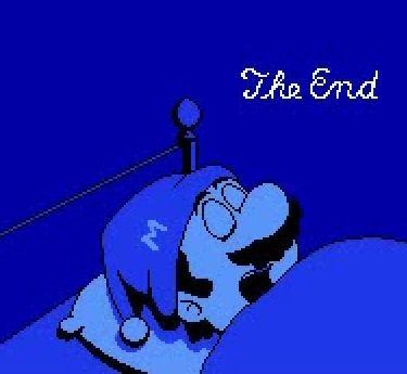 Mario 2 end