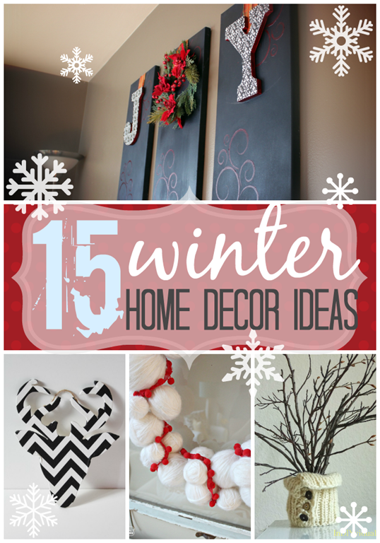 15 winter home decor ideas at GingerSnapCrafts.com #diy #homedecor #winter #linkparty #features_thumb[2]