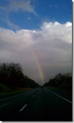 Rainbow over Richmond, Winter 2011 Family Trip (1)