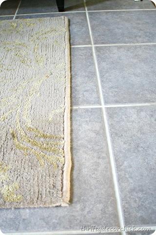 binding a rug