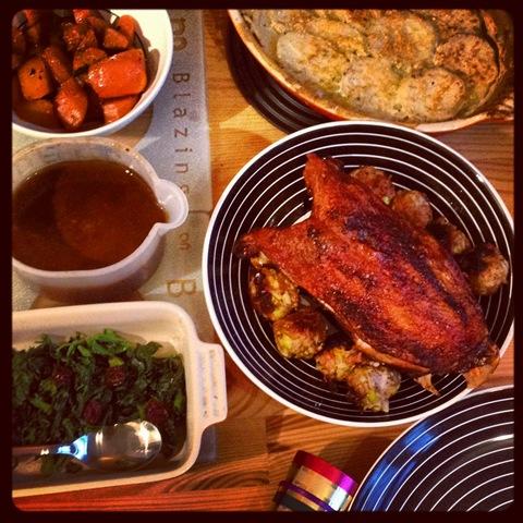 #360 - Christmas roast goose at #littleflat