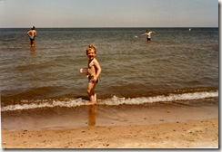 197907 Niels at Lake Michigan - Indiana Dunes