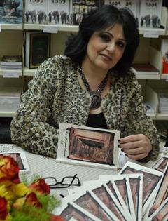 الروائية ماري بنت ريحان
