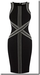 Karen Millen Tribal Bandage Knit Dress