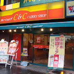 curry shop in akihabara in Akihabara, Tokyo, Japan