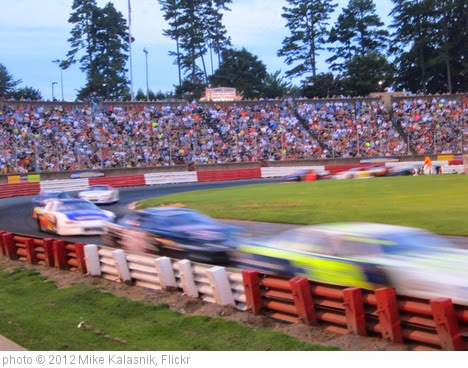 'Bowman Gray Stadium Season Finale 2012' photo (c) 2012, Mike Kalasnik - license: https://creativecommons.org/licenses/by-sa/2.0/