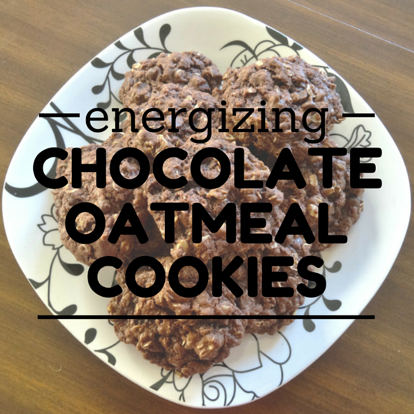 Energizing Chocolate Oatmeal Cookies