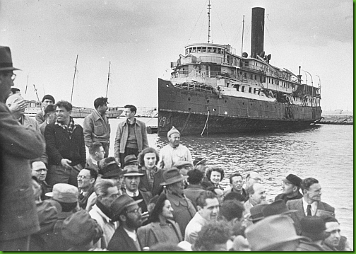 Immigration to Israel, 1947