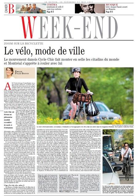 vélo LeDevoir 270511