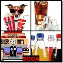 SODA- 4 Pics 1 Word Answers 3 Letters