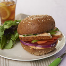 Buffalo Ranch Grilled Chicken Sandwiches
