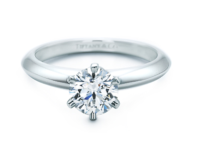 Just as lovely today as it was then, the Tiffany 6-prong setting never goes out of style.