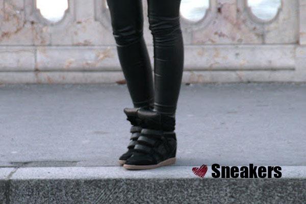Sneaker-Isabel-Marant-Preto