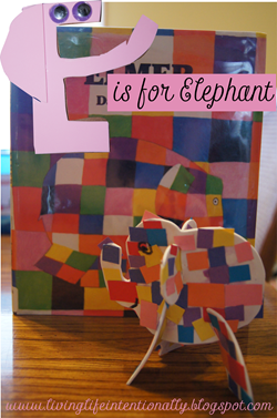 preschool - E is for Elephant week #alphabet #preschool
