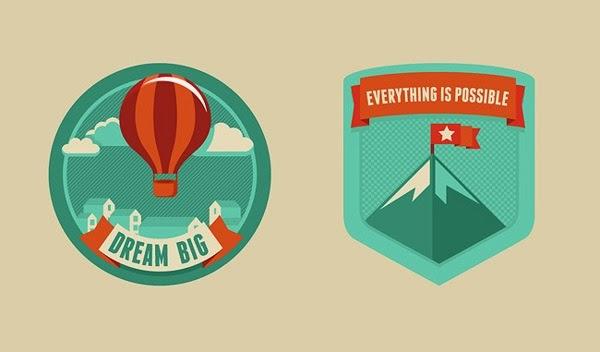 motivational badges