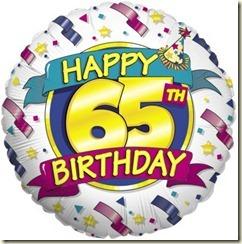 65th bday