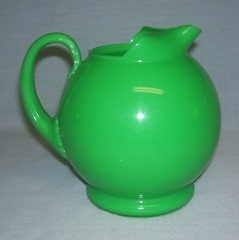 Sterilite green plastic pitcher