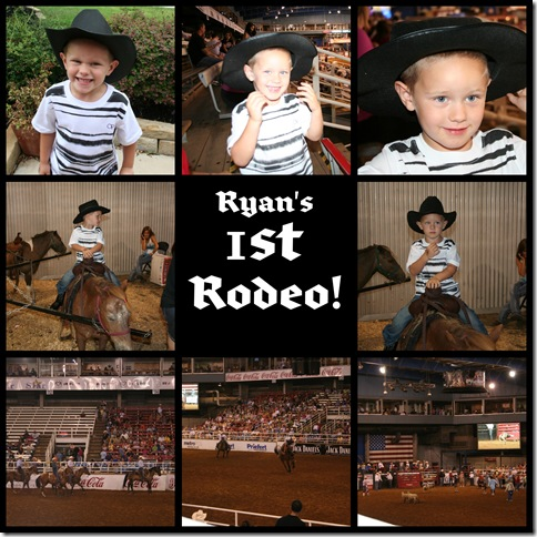 Ryans first rodeo