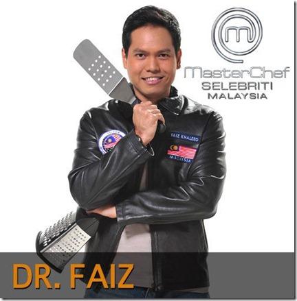 Dr Faiz Selebriti MasterChef Malaysia