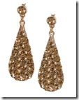 Phillips Audibert Swarovski Crystal Earrings