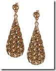 Phillips Audibert Swarovski Crystal Earrings