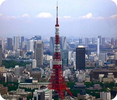 Torre de Tóquio atinge 170 milhões de visitantes