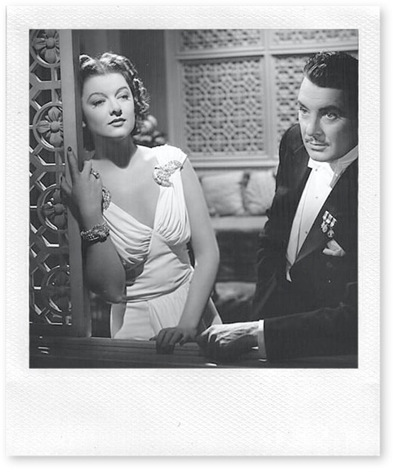 myrna loy george brent The Rains Came