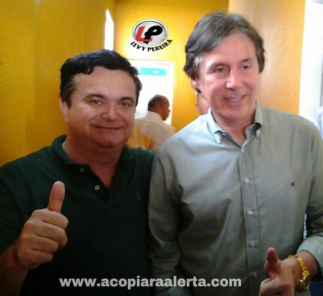 ACOPIARA: INAUGURAÇÃO DE COMITÊ DE RICARDO ALMEIDA COM A PRESENÇA DE EUNÍCIO OLIVEIRA